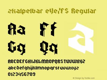 zkalpelbar eYe/FS Regular Version 1.0图片样张