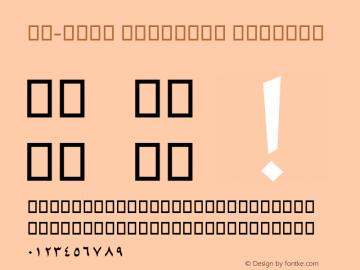 AM-ZAIN ORIGINAL Version 0.1图片样张