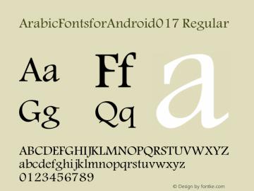 ArabicFontsforAndroid017 Version 1.0.0图片样张