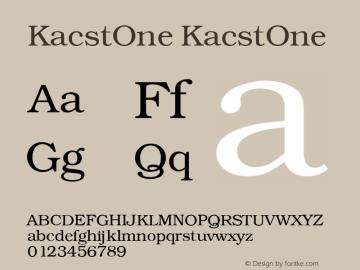KacstOne 1图片样张