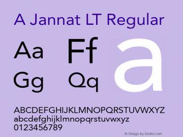 A Jannat LT Version 100 July 3 2008 Initial Release