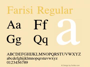 Farisi 1.1图片样张