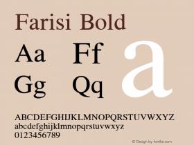 Farisi Bold 1.1图片样张