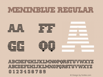MeninBlue version: 001.003.098   3/4/98图片样张