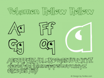 Pokemon  Hollow Altsys Metamorphosis:29.09.1999图片样张