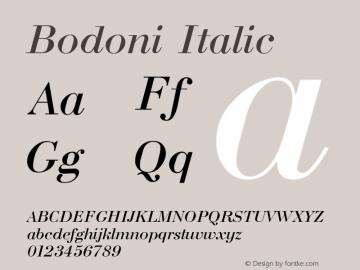 Bodoni Font,Bodoni Italic Font,Bodoni-Italic Font|Bodoni Italic