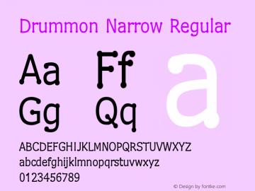 Drummon Narrow 1.03图片样张