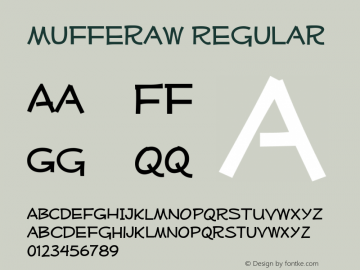 MufferawRg-Regular Version 3.101 Font Sample