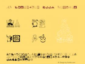 KR Christmas 2001 Macromedia Fontographer 4.1 12/23/01图片样张