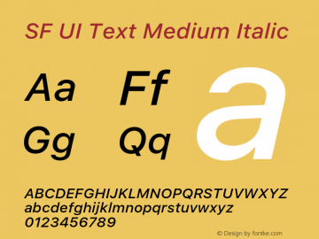 SF UI Text Medium Italic 11.0d59e2图片样张