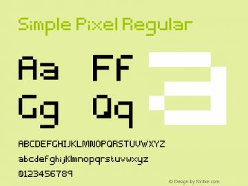 Simple Pixel Regular Version 1.0图片样张