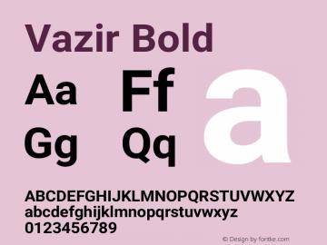 Vazir Bold Version 13.0.0图片样张