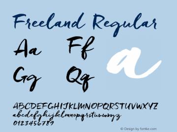 Freeland Version 1.000图片样张
