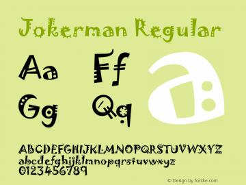 Jokerman Version 1.01图片样张