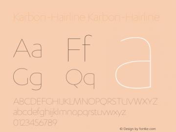 CKarbon-Hairline Version 1.0图片样张