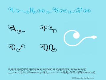 ☞UmbriaSwash Version 1.000;com.myfonts.tipografiaramis.umbria.swash.wfkit2.3vPk图片样张