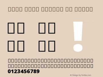 Noto Sans Arabic UI Black Version 1.900 Font Sample