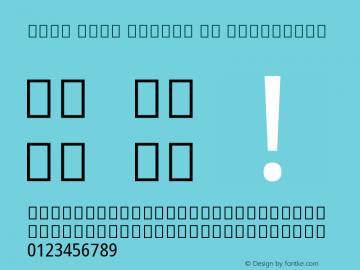 Noto Sans Arabic UI Condensed Version 1.900图片样张
