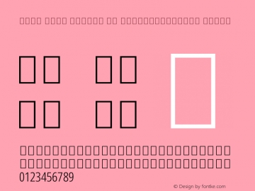 Noto Sans Arabic UI ExtraCondensed Light Version 1.900图片样张