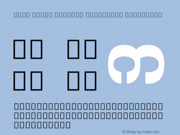 Noto Serif Myanmar Condensed ExtraBold Version 1.902; ttfautohint (v1.6)图片样张