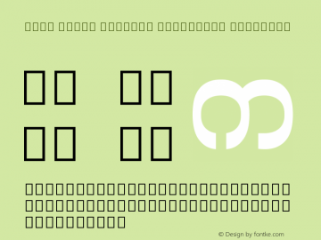 Noto Serif Myanmar Condensed SemiBold Version 1.902; ttfautohint (v1.6)图片样张