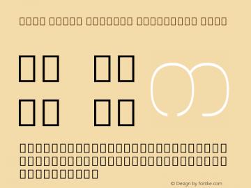 Noto Serif Myanmar Condensed Thin Version 1.902; ttfautohint (v1.6)图片样张