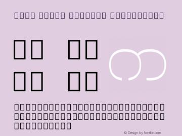 Noto Serif Myanmar ExtraLight Version 1.902; ttfautohint (v1.6)图片样张