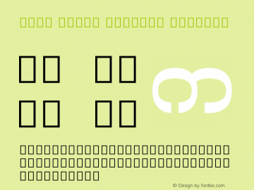 Noto Serif Myanmar SemiBold Version 1.902; ttfautohint (v1.6)图片样张