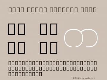 Noto Serif Myanmar Thin Version 1.902; ttfautohint (v1.6)图片样张