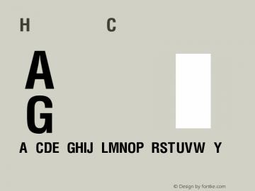 Helvetica Condensed Bold Version 1.0 Extracted by ASV http://www.buraks.com/asv图片样张