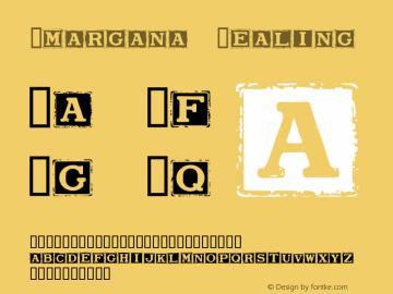 Smargana Dealing Macromedia Fontographer 4.1.5 10/1/98 Font Sample