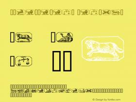 Stjernetegn Regular 1.0 - 01-10-97图片样张