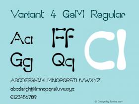 Variant 4 GeM Regular 1.5图片样张