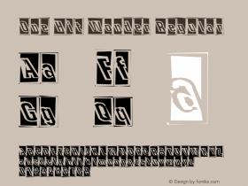 One Hit Wonder Regular nostalgic Font Sample