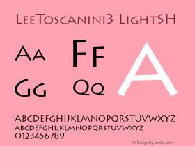 LeeToscanini3 LightSH SoHo 1.0 10/1/93图片样张