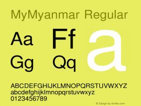 MyMyanmar Version 9.005图片样张