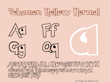 Pokemon Hollow Normal Version 1.0图片样张