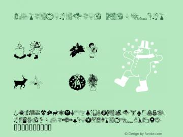 ChristmasTime Regular Macromedia Fontographer 4.1 2000-09-29 Font Sample