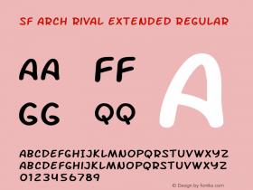 SF Arch Rival Extended Regular Version 1.1图片样张