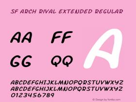 SF Arch Rival Extended Regular ver 1.0; 2000. Freeware.图片样张