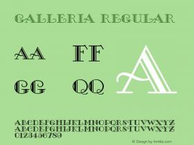 Galleria Version 2.1图片样张
