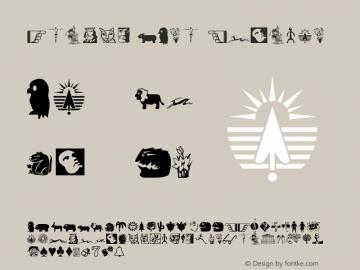 Studio EArt Regular Altsys Fontographer 4.0 7/25/95 Font Sample