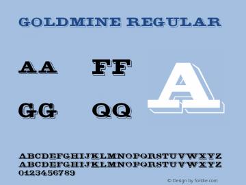 GoldMine Version 2.1图片样张