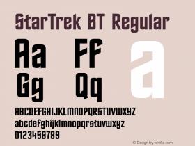 StarTrek BT Regular mfgpctt-v1.46 Friday, October 2, 1992 2:03:38 pm (EST) Font Sample