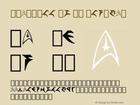 StarTrek Pi BT Regular mfgpctt-v1.46 Friday, October 2, 1992 2:02:26 pm (EST) Font Sample