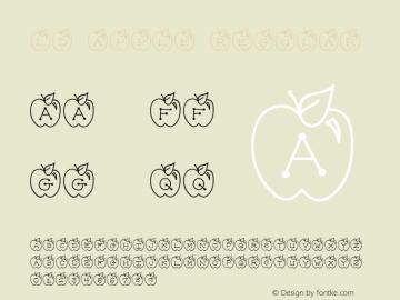 LD Apple Regular 9/29/00 Font Sample