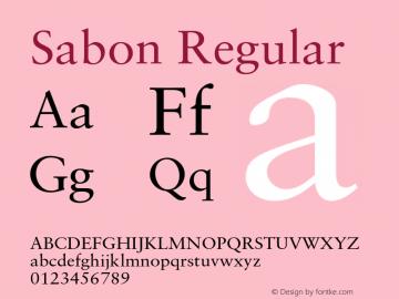 Sabon-Roman 001.001图片样张