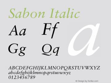 Sabon-Italic 001.001图片样张