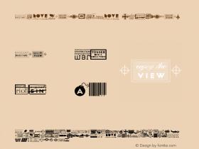Apocalypso Regular 001.000 Font Sample