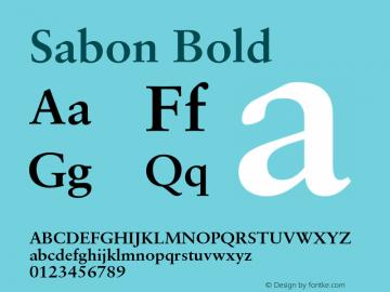 Sabon-Bold 001.001图片样张